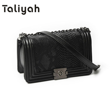 Winter Vintage Fashion Chain Luxury Handbags Women Bag Designer Women Messenger Bags Ladies Small Crossbody Shoulder Bags 8806