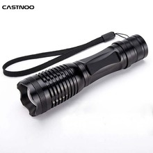 Promotion Bright 5 Modes Led Flashlight 2000LM Zoomable CREE XML T6 LED 18650 Flashlight Focus Torch Zoom Lamp Light