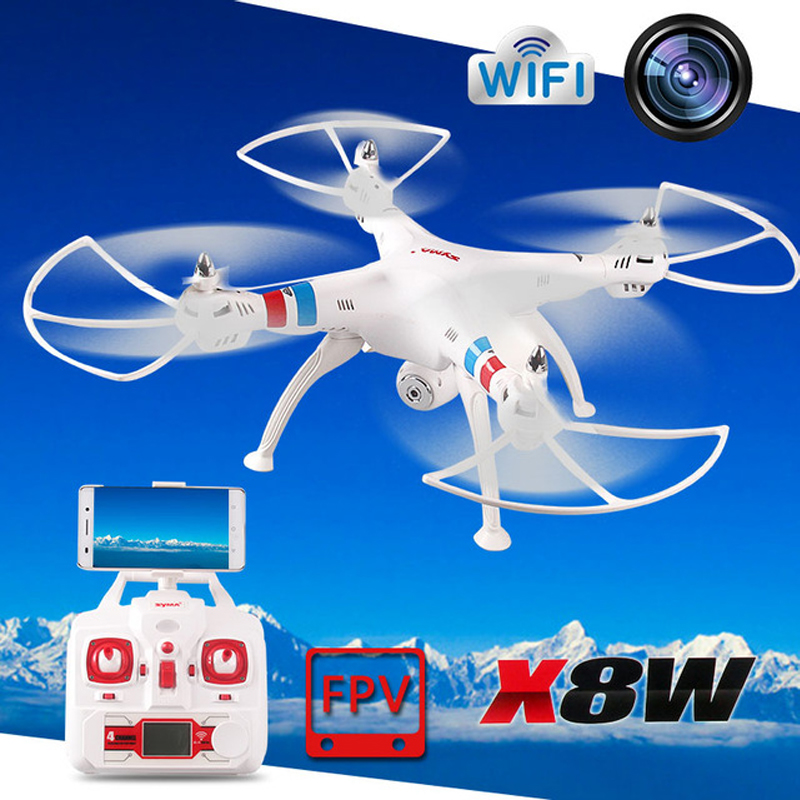 HOT kvadrokopter Syma X8W FPV 2.4Ghz Headless RC Quadcopter Drone With 2MP WiFi Camera RC Helicopter <br><br>Aliexpress