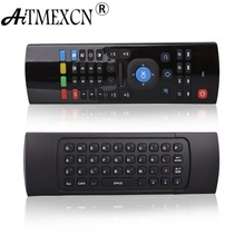 Gyroscope 2.4Ghz Fly Air Mouse Remote Control Mini Wireless Keyboard Gaming for Smart Tv Box Andriod X360 PS3 Computer HTPC MX3