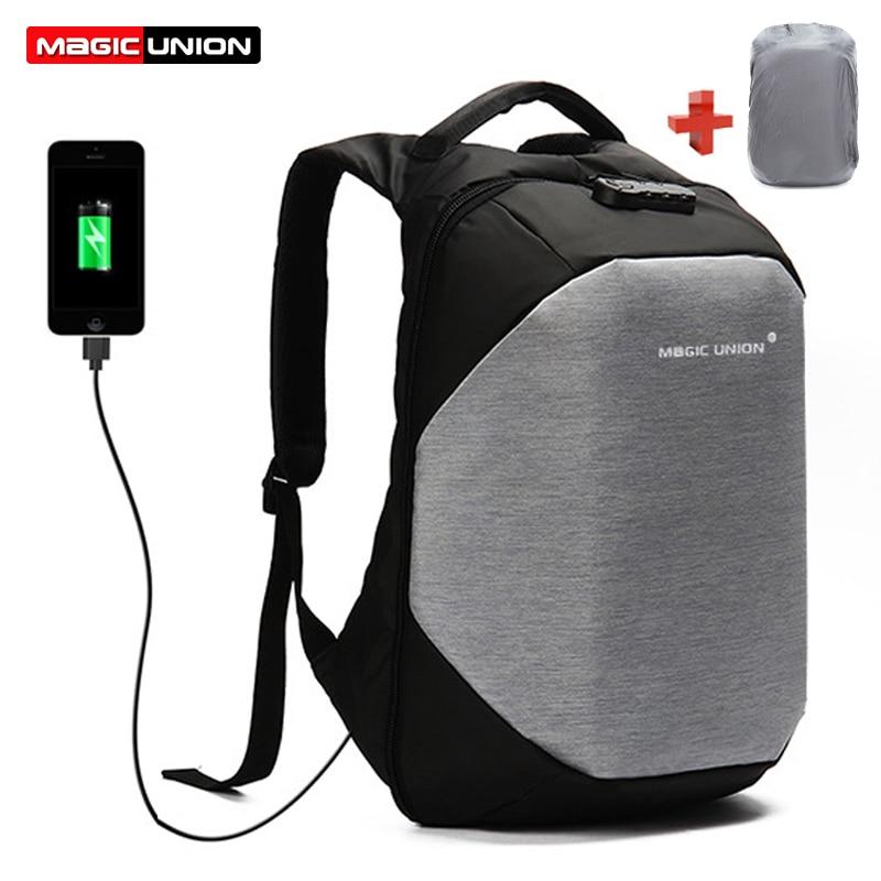 MAGIC UNION Brand Design Mens Travel Bag Man Swiss Backpack Polyester Bags Waterproof Anti Theft Backpack Laptop Backpacks Men<br>