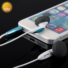 Original Awei ES 12i 1.2m Cable Length In-ear Earphone For Mobile Phone Tablet PC Noise Isolating Hi-definition Technology