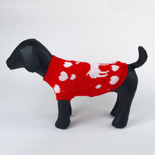 New Dogs Coat Sweater Pet Puppy Knitting  Christmas The Best Gift Patterned Soft Cozy Warm Coat Jacket Sweater