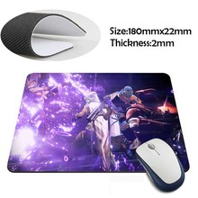 destiny purple explosion Rubber Soft aming Mouse ames Black Mouse pad