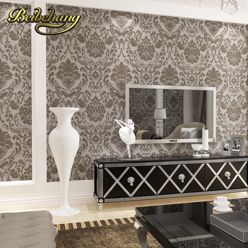 beibehang wallpaper for walls 3 d relief Hotel beauty salon works the living room TV backdrop aisle Papel De Parede wall paper<br>