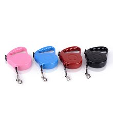Durable Dog Leash Extending Puppy Walking Leads 3M 5M Retractable Dog Collars Leads