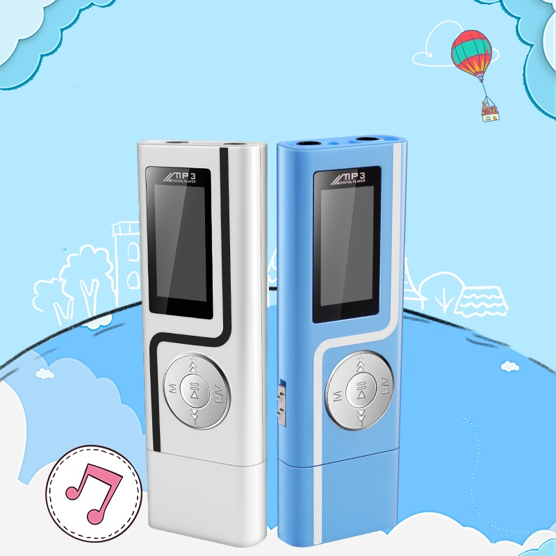 GERUIDA MP3 Player Faster Charge USB MP3 Mini Music Player Also U Disk 2G4G8G With FM Recording E-Book OTG Lanyard  (10)