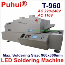 Authorized PUHUI T-960 LED Soldering Machine Mini SMT Reflow Oven T960 Infrared IC Heater BGA SMD Rework Sation T 960