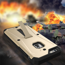 Military Tanks Armour 3 in 1 PC + TPU Hybrid Armor Stents Case Cover For iPhone 6 6S 4.7inch/5.5inch Plus Waterproof Cases