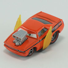 Pixar Cars Snot Rod With Flames Diecast Metal Toy Car For Children Gift 1:55 Loose New In Stock(China)