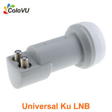 Universal LNB Ku Band Twin Output LNB Mini Style for Digital Satellite Dish Full HD DVB-S/S2 Hot Selling(China)