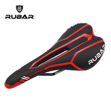 RUBAR MEIRATES PLUS 3255 clismo Road Bike MTB Cycling Saddle Hollow Design CR-MO Rail Seat Saddle Cushion Bicycle Parts(China)