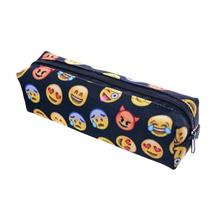 Expression Smiley Face Pencil Case Pen Bag Cosmetic Bag Zipper Pouch for Adults School Students(China)