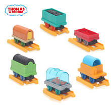 Thomas & Friends 6pcs/lot Wooden Train Accessories Cargo Collectible Railway Diecast Toys TrackMaster Mini Trains Thomas trein(China)