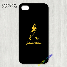 SCOZOS black johnnie walker logo cell case for iphone X 8 8 plus 4 4s 5 5s 5c SE 6 6s & 6 plus 6s plus 7 7 plus case #0704an(China)
