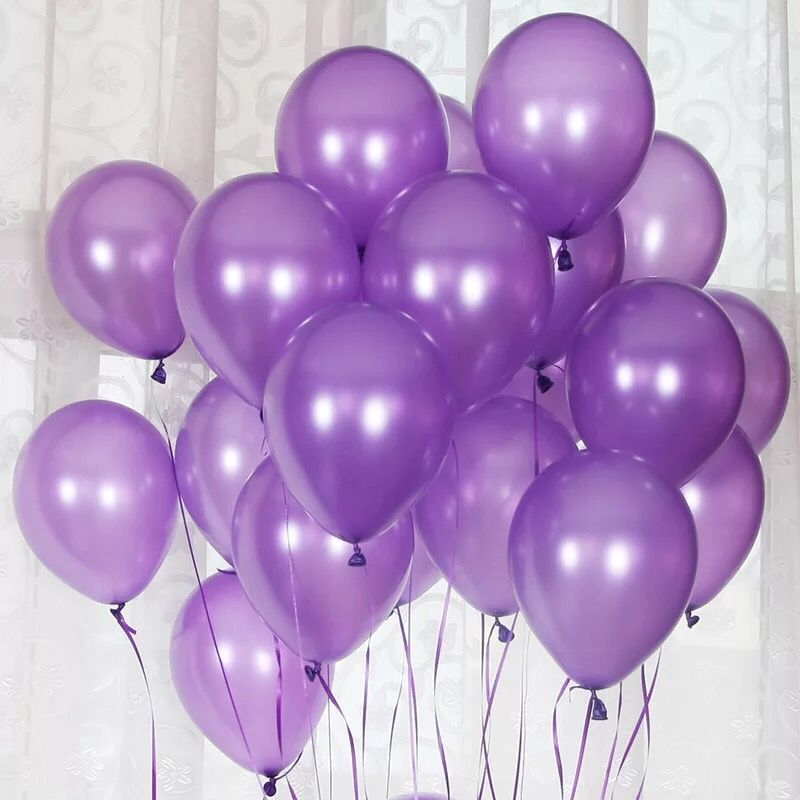 cheap 100pcs 10'' 1.2g Round Shape Latex Pearl Balloons Party Decorate Valentine's Day Happy Birthday Wedding Decoration Balloon 3