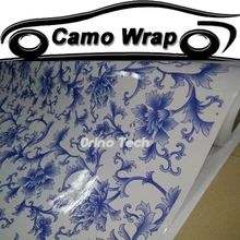Car Styling Sticker Flower Camouflage Vinyl Wrap Film Vehicle Motorcycle scotter Wrapping Decal Matte/Glossy Finished