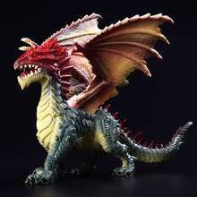 24cm Simulation Magic Dragon Dinosaurs Colorful Animal PVC Action Figure Toy Doll Model Decoration Kid Adult Gift(China)