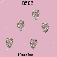 Free Shipping 2015 New Nail Decorations 3D Nail Rhinestones Jewelry Metal Crystal Pearl Nail Supplier for Nail Accesories