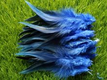 "New! Royal blue 50 pc quality pheasant feather, 4-6 ""/ 10-15cm DIY decoration accessories, weddings, family"