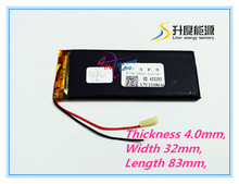 best battery brand Size 403282 3.7V 1500mah tablet battery with Protection Board For iPhone Mobile Phone Digital Produc