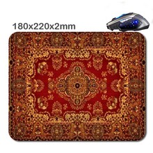Persian Carpet HOT SALES Comfortable Soft Printing Mini Pc  Mouse Pad Round  Durable Durable Mouse Pad Can Be Used To As  Gift