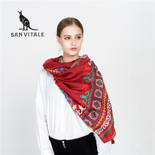 Scarves Women Scarf Winter Winter Cotton Poncho Fashion Scarfs Headband High Quality Designer Casual Clothing Accessories Woman(China)