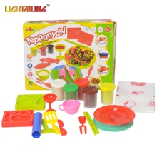 LIGHTAILING Brand Playdough Set Kid Child Super Light Air Dry Foam Clay Play Doh Dough Soft Clay Intelligen Playdoh Toy