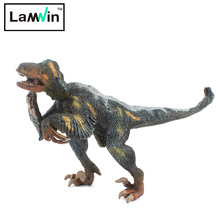 Lamwin Unique Design Plastic Dinosaur PVC Action Figure Ornithomimus Model Jurassic Collection Toy