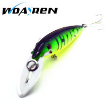 1Pcs Wobbler Artificial Big Minnow Fish Bait Unique Body Texture 14cm/16.2g Fishing Tackle Pesca 7 Color Fishing Lure FA-275