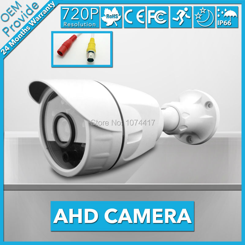 AHD3610LD-TE Free Shipping!  IP66 Waterproof Outdoor 2000TVL 1.0MP 720P Bullet  AHD Camera CCTV Security Surveillance<br>