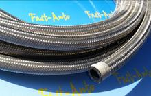 1 meter an 12 an12 12an  stainless steel braided hose line fitting transmission oil cooler kits for ej25 rb26det