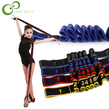 Children Kids Girl Gymnastics Latin Dancing Training Bands Pilates Yoga Stretch Resistance Bands Fitness Elastic Band GYH(China)