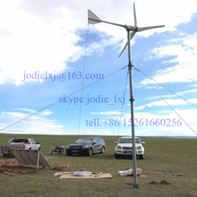 2kw household wind turbine generators out put 96v on grid / off grid wind turbine