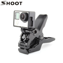 Portable Jaws Flex Clamp For Gopro Hero 5 4 Session 3 SJCAM SJ4000 SJ5000 M10 Xiaomi Yi 4K Camera Clamp Mount Gopro Accessories(China)