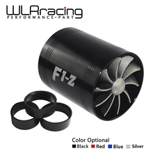 WLRING STORE- F1-Z Supercharger Double Turbine Turbo Charger Air Intake Gas Fuel Saver Fan Car WLR-FSD11(China)