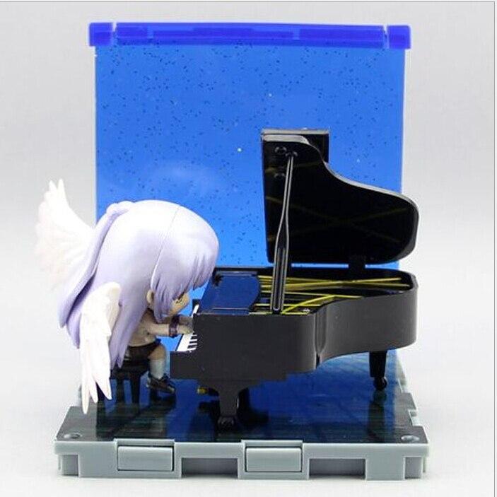 Angel Beats! PVC Action FIgure Angel Tachibana Kanade Piano Set Nendoroid Collectibles Figure<br><br>Aliexpress