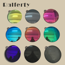 1.61 Prescription Polarized Lenses Mirrored Colorful Lens Myopia/Hyperopia Optical Sunglasses Lens Anti UV Driving Goggles(China)