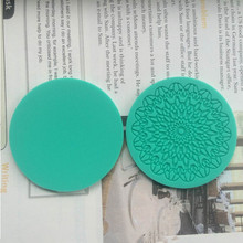 Fondant Cake Round Lace Silicone Mold Sugar Paste Sugar Art Tools Cake Decoration Mould