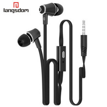 10 Color Earphone 3.5Mm Stereo Bass Earphones With Mic  For Your Mobile Phone Iphone 5 6 Samsung Note Mp3 Player