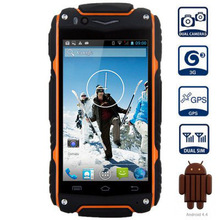 "Original 4"" Guophone V8 3G Smartphone Android 4.4 MTK6572 Dual Core Unlocked GPS Waterproof Dustproof Mobile phone(China)"