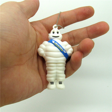 lovely white Michelin usb flash drive disk memory stick pendrive Pen drive personalized 4GB 8GB 16GB 32GB mini computer gift