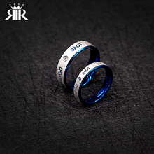 Simple Ring Designer Supernatural Couples Lovers Blue Ring Very Popular