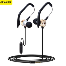 Best Price ! Headphones HOT SELL 3.5mm In Ear Clip On Sport W/ Mic Stereo Earphone Jogging Headphone top quality jan13