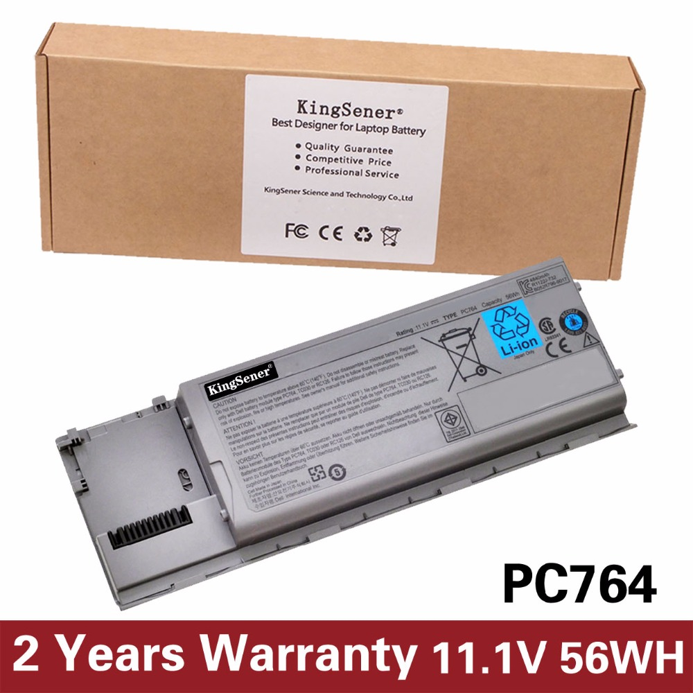 11.1V 56WH Japanese Cell New Laptop Battery PC674 for DELL D620 D630 D631 D640 PC764 JD606 TC030 TD175 KD491 6CELLS<br>