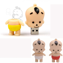 Pendrive 128GB Boys/Girls usb flash drive 64g pen drive 32g 16g 8g 4g Hot Sale new smile cartoon baby Usb memory stick thumb