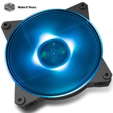 Cooler Master MASTERFAN PRO 120 Air Pressure AURA RGB 12cm Case fan adjustable LED 120mm Quiet Computer CPU water cooling fan(China)