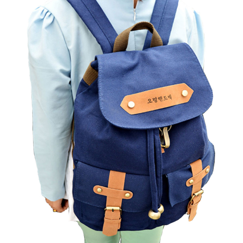 2015 brand unisex backpack men travel canvas travel fashion backpack feminine school bag Korea letter Backpack Mochila XA319B<br><br>Aliexpress