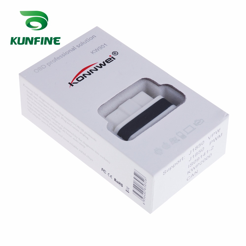 Auto Diagnostic Tool Car engine code Scanner Vehicle fault reader KF-A1184_8209
