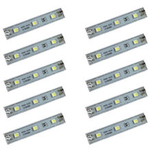 AA 20pcs 5050 3 LED SMD LED Module White/Warm White/Red/Green/Blue Waterproof Light Advertising lamp DC 12V Wholesale